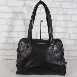 Cynthia Rowley Black Leather Shoulder Bag Satchel
